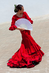 Spanish Dancer with Spanish Property